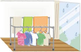 梅雨時期の洗濯物を早く乾かす方法!